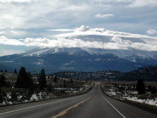 Mount Shasta was magnificent...