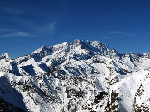 Monte Rosa from south