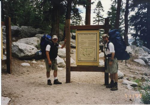 The trailhead