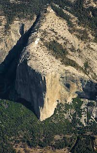 El Cap from Above