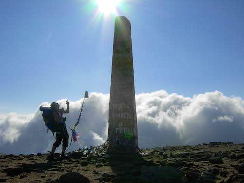 Hoverla - The highest peak of Ukraine
