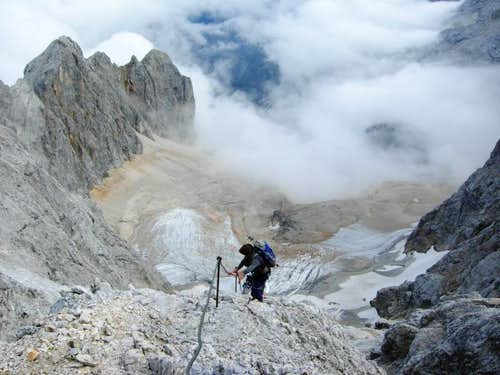 Ferrata to the Zugspitze