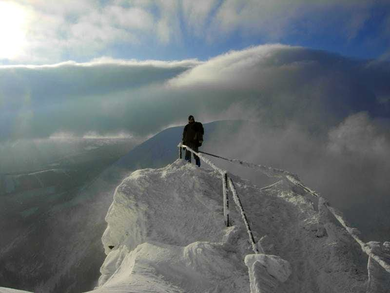 Close to the summit