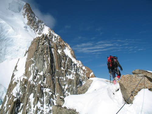 2nd summit of the Pointes Lachenal