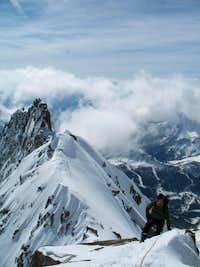 SE-ridge of the Tour Ronde