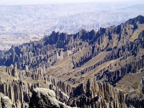 Valle de las Animas - above La Paz