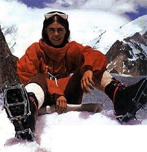 Wanda Rutkiewicz on Mount Everest 1978