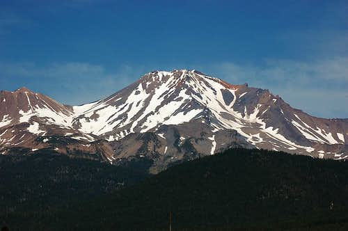 Mt. Shasta from the west