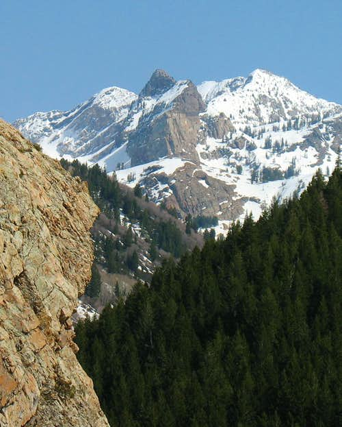 Sundial Peak from Mill B North Trail