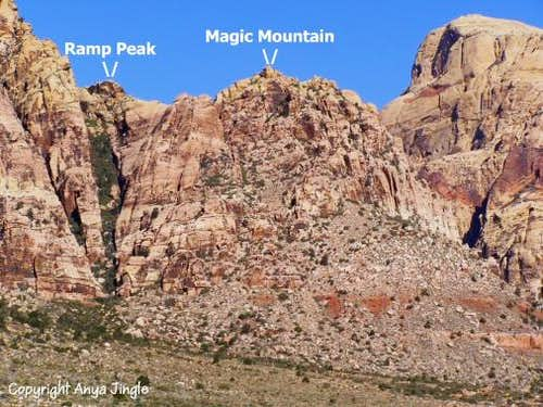Magic Mountain and Ramp Peak