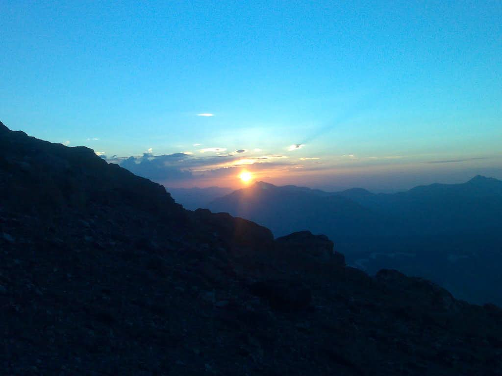 Sunset ...Damavand..4000m...