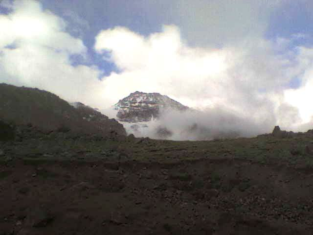Sabalan...Fighting Between Clouds and the Peak