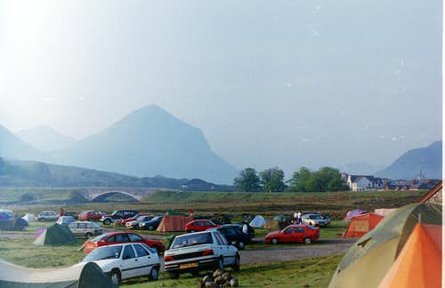 The Campsite at Sligachan - Isle of Skye