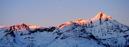 Grand Sassiere sunset