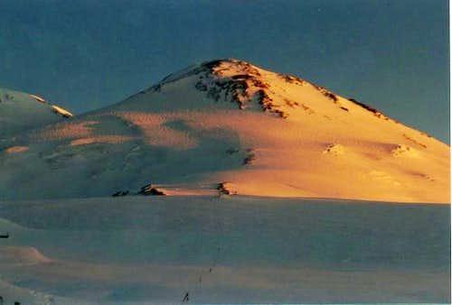 Sunrise on Elbrus.