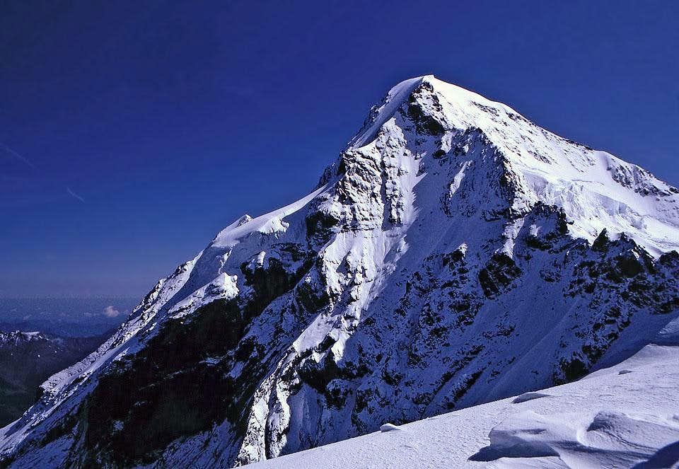 Moench from Jungfraujoch in...