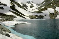 Black lake in Altiparmak