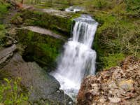Upper Clun-Gwyn waterfall