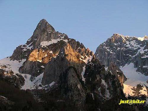 Ocnjak peak (2.185m)