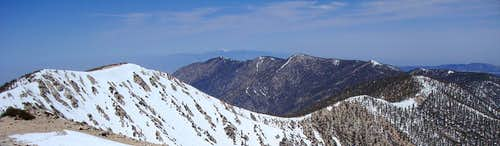 San Gorgonio Ridge Panorama
