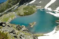 KaraGöl from rock above lake