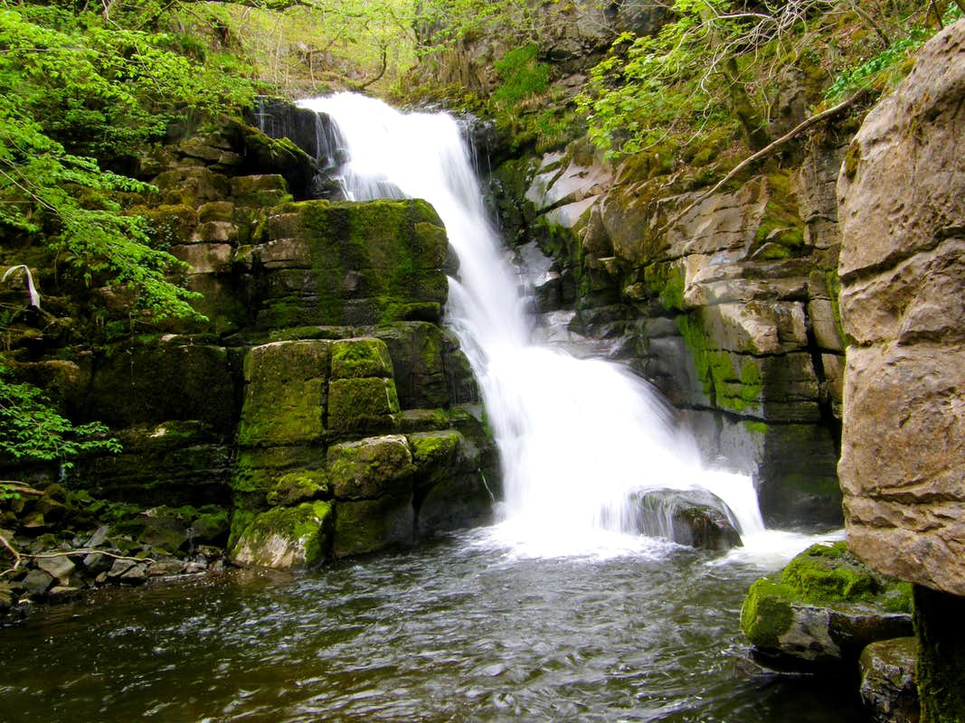 Horseshoe Falls River Neath Vale Of Wales