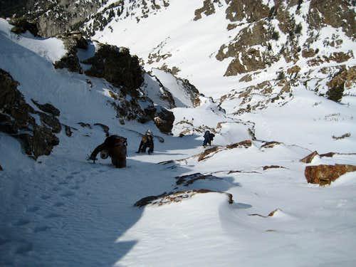 Ascending Tanner's Gulch