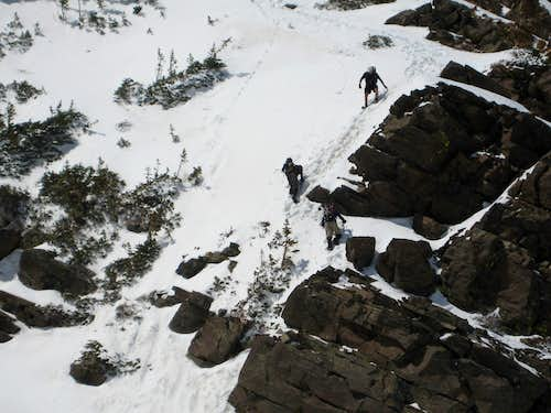 Descending East Twin