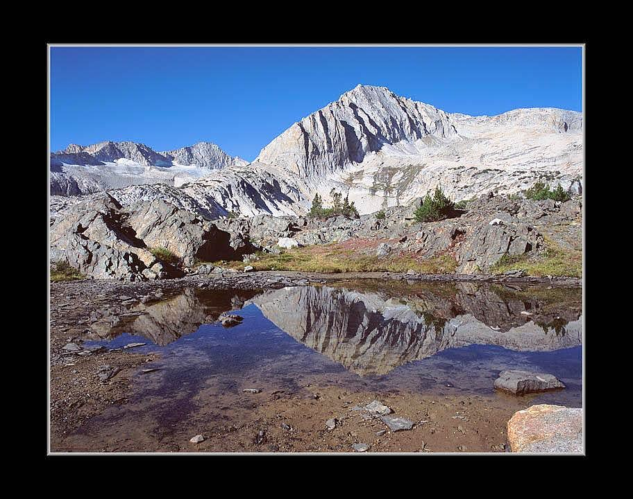 North Peak Reflecting in Pond