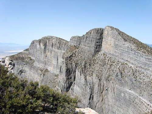 Notch Peak,  2nd biggest cliff in N.A.