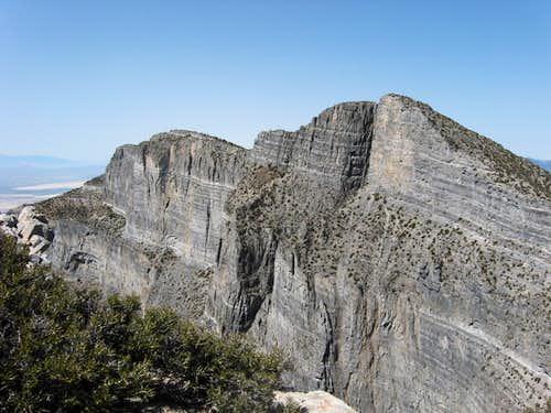 Notch Peak,  2nd biggest cliff in N.A.