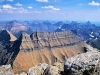 Summit view from Mount Stimson