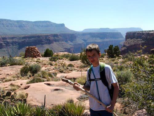 Mystery Hut on Grand Canyon Rim