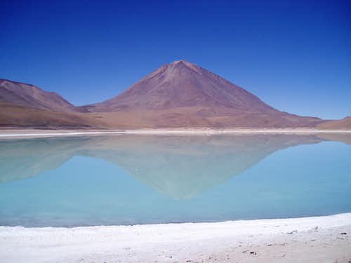 Licancabur and Laguna Verde