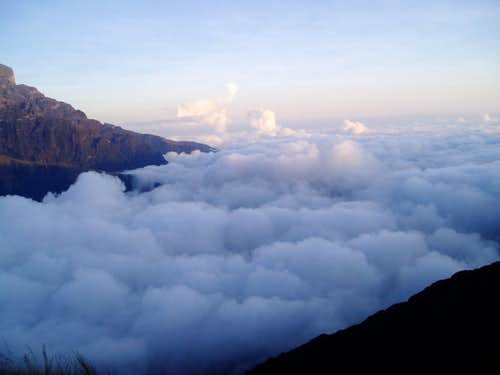 Above the clouds - Yunga Cruz