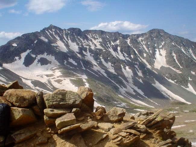 View of the El Diente Mount...