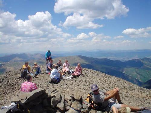 Mennonites on the summit