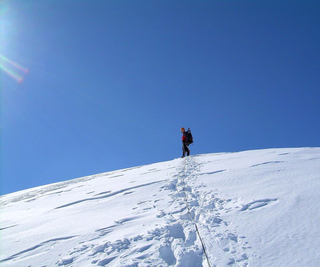 On the summit !