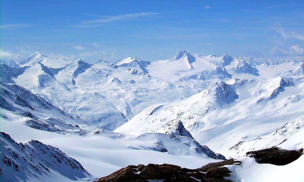 The ötztaler Alps