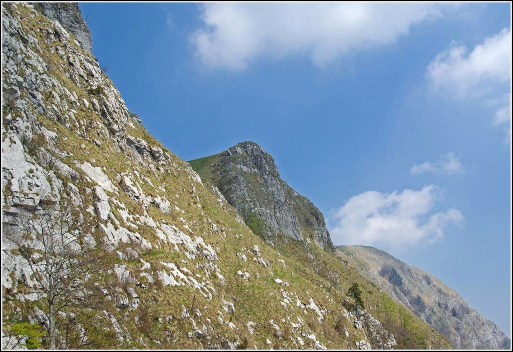 Monte Cuar - NW ridge
