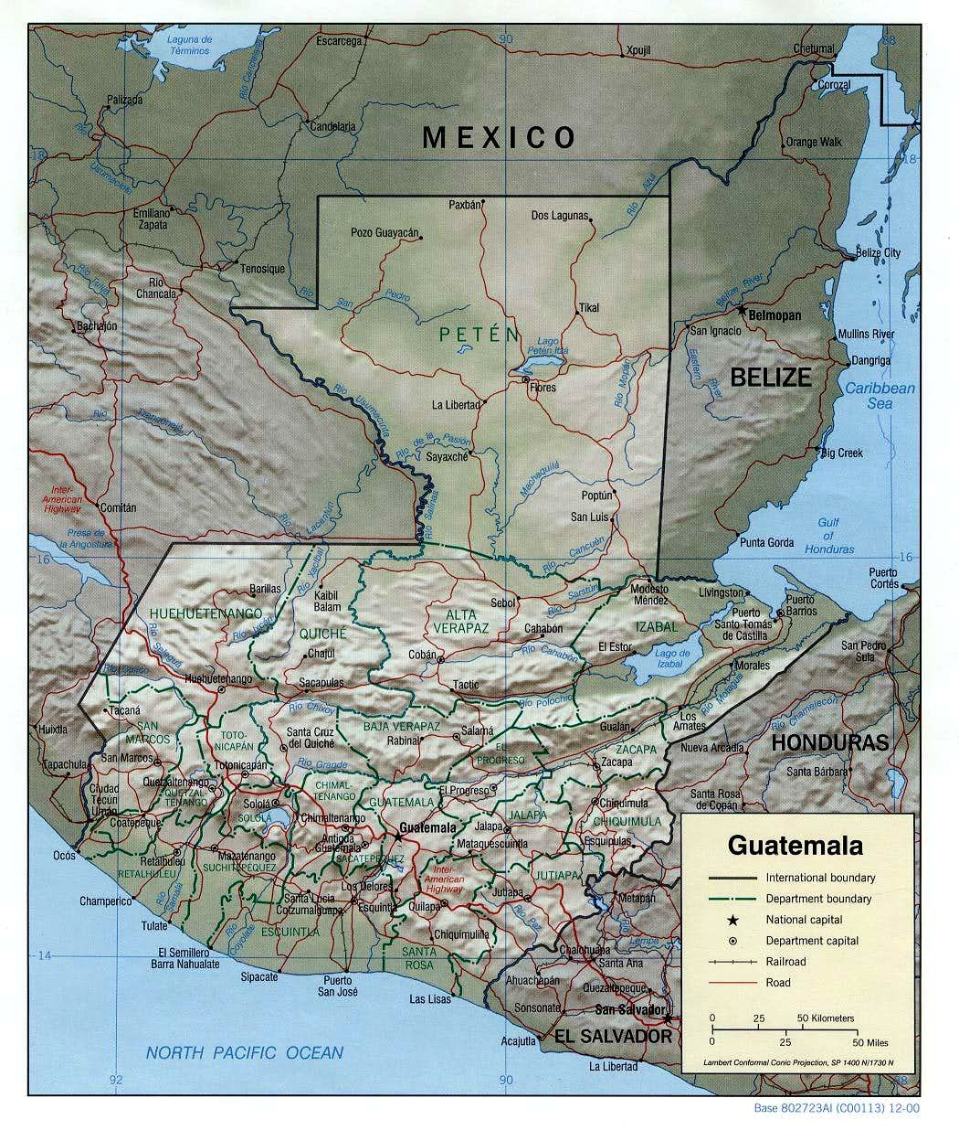 Guatemala Locations