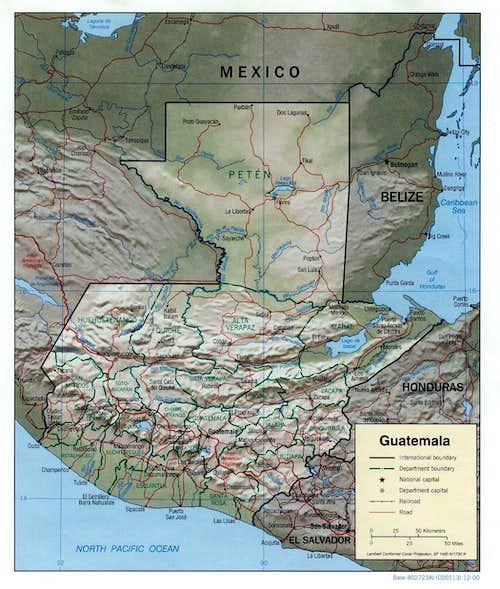 Guatemala Locations