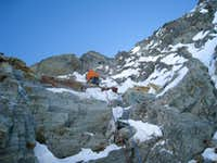 Mont Collon NW Couloir