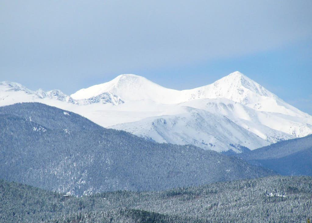 Grays and Torreys Peak
