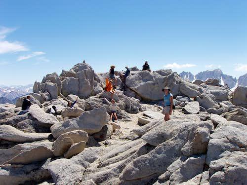 A hard climb at age 9