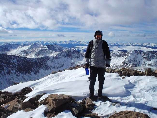 Summit of Quandary Peak...