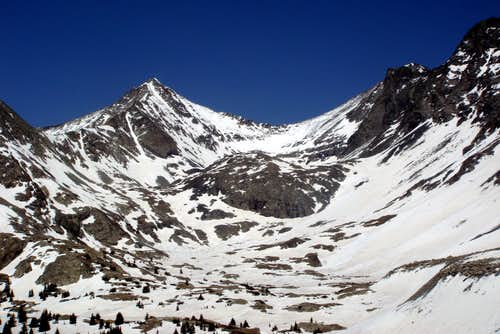 Ellingwood Pt & Blanca Peak