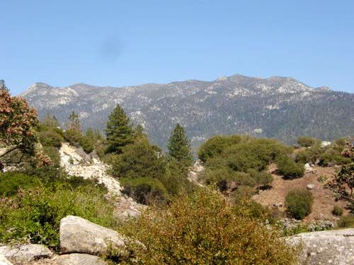 San Jacinto Peak from Hwy 243