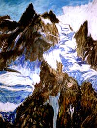 Training Programme. Theatre on the Aiguille du Midi