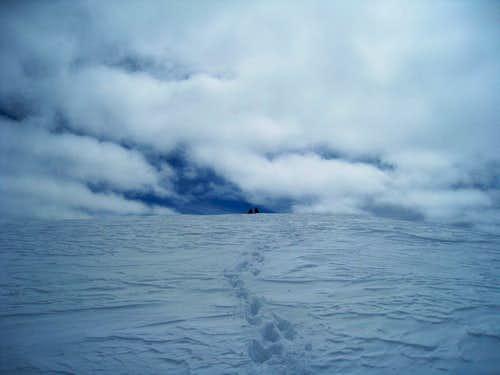 Mont Collon summit
